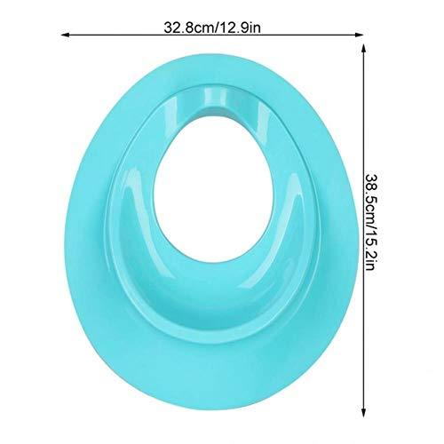 Cartoon patroon kinderen toiletbril Mat draagbare opvouwbare toiletbril Cover Mat kussen voor kinderen Kinderen kinder toiletbril, blauw