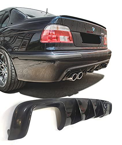 Lasscar Rear Bumper Diffuser Lip Splitter Hamann Style one Exhaust for BMW E39 M5 Series