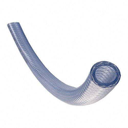Quarzflex PVC-Schlauch mit Gewebeeinlage, Lebensmittelqualität, 19 mm Innendurchmesser, Meterware, Made in Germany