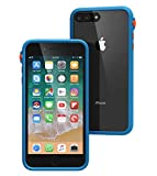 Catalyst iPhone 8 Plus Case Shock Proof Impact Protection, with Wrist Strap Lanyard Rugged Apple Phone case [Fits iPhone 7 Plus, Wireless Charging, Drop Protective, Mute Switch - Blueridge/Sunset