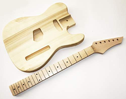 Body und Neck, Gitarrenkörper Gitarrenhals für E-Gitarre TLT5A