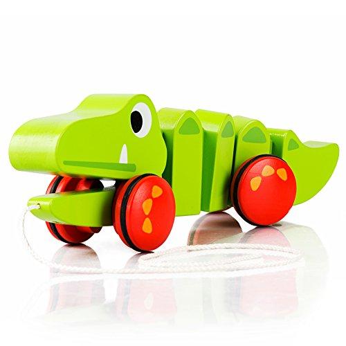 Wooden Alligator Pull Toy