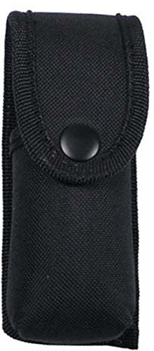 MFH- Funda de spray de defensa-Etui, Nylon, negro