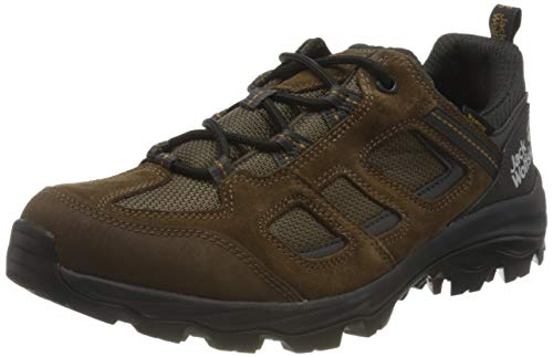 Jack Wolfskin Herren Vojo 3 Texapore Low M Outdoorschuhe, Brown/Phantom,44 EU