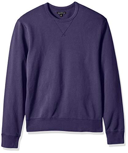 J.Crew Mercantile Men's Garment Dyed Crewneck Pullover, deep Baltic, M