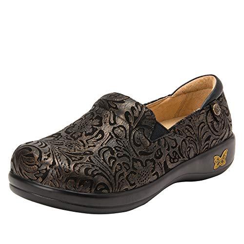 Alegria Keli Womens Professional Shoe Bronze Swish...