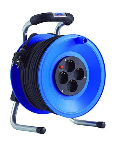 HEDI K1Y50PT Kabeltrommel, 250 V, blau, schwarz