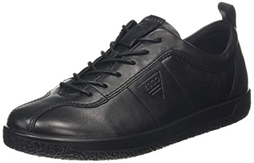 Ecco Damen Soft 1 Sneaker, Schwarz (Black), 41 EU (7.5 UK)