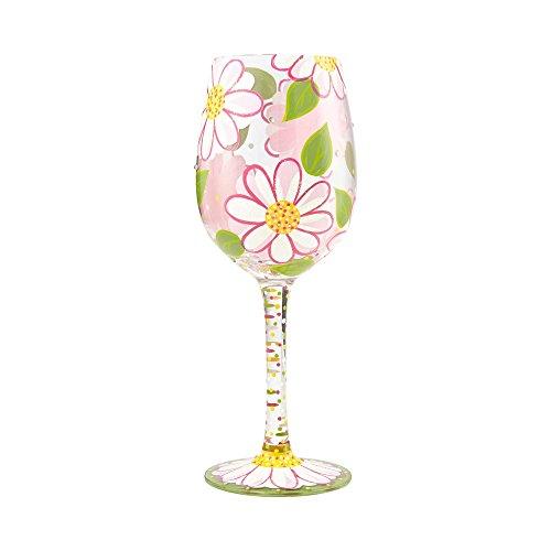 Lolita, Copa con dibujos de flores, Enesco