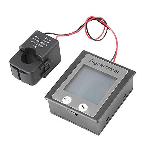 PEACEFAIR STN AC 80-260V 100A Pantalla digital Multifunción 3 en 1 Energía...