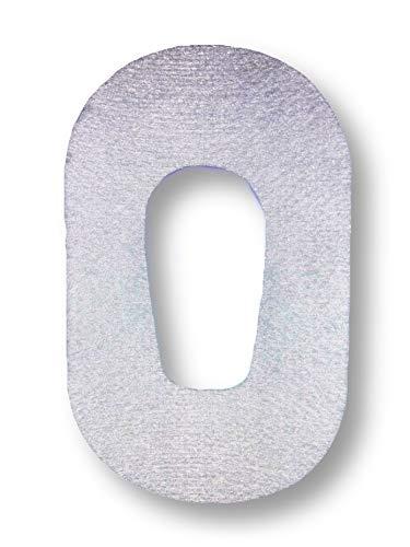 FixTape atmungsaktives Sensor-Tape für Dexcom G6 I selbstklebendes Patch mit Loch für Glukose-Sensor I hoher Trage-Komfort I hautfreundlich und wasserfest in modernen Designs I 7 Stück (Weiss)