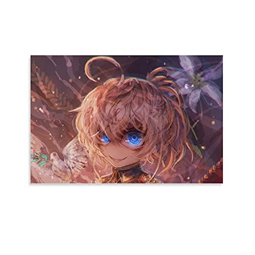 Póster de anime Saga de Tanya The Evil Tanya1 con pintura decorativa para pared o sala de estar, 60 x 90 cm