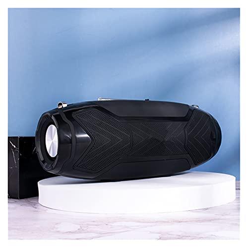 RYSF High Power 40W Drahtlose Lautsprecher für Bluetooth PC Computer Tragbare Outdoor Säulen Stereo Subwoofer Boom Box Music Center Radio (Color : Black)
