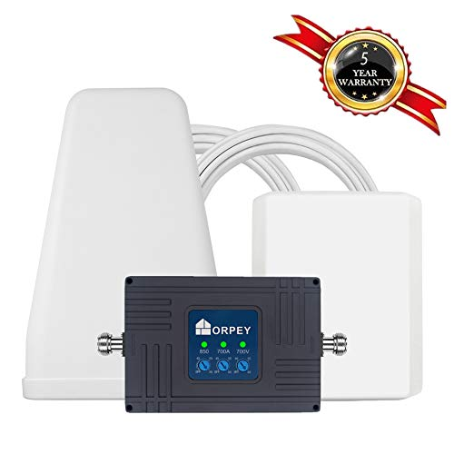 Cell Phone Signal Booster for Home and Office - Supports GSM 3G and 4G LTE Voice and Data Signal for...