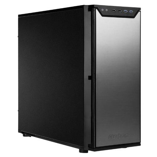 Antec P280 Black ATX Mid Tower Computer Case,Aluminum front black body