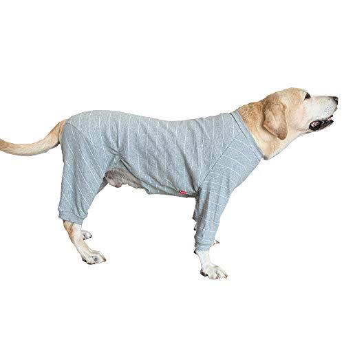 BT Bear - Pijama de perro grande para proteger las articulaciones anti-pelo...