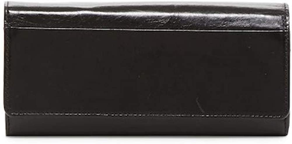 Hobo Brianna Leather Wallet - Black
