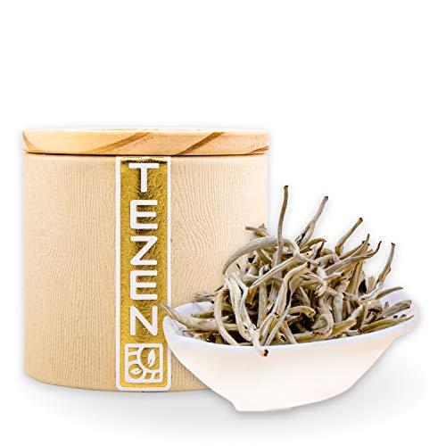 Silver Needle Bio Tee Weißer Bio Tee aus Yunnan, China   Hochwertiger chinesischer Weißer Bio Tee   Yin Zhen Silver Needle Bio Tee (80g)