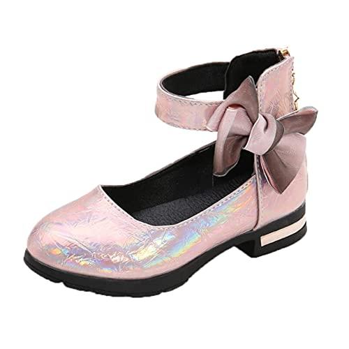 Zapatos de Princesa para niñas Impermeables de Punta Redonda Bonitos Zapatos de...