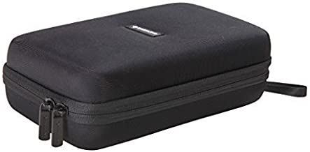 """Caseling Universal Electronics/Accessories Hard Travel Organizer Carrying Case Bag, 9.8"""" x 5.6""""x 2.8"""" - Black"""
