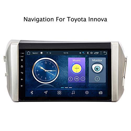 HBWZ Sat Nav for Toyota Innova 2015-2018 Navigator Car GPS Navigation System Satellite Navigator DVD Player Tracker Bluetooth WiFi Stereo Auto Radio Touch Screen (Quad CORE) -  JOYING