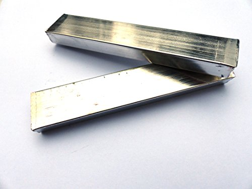 Pewter Bars (1 Pound - Britannia Alloy - Lead Free) by MS MetalShipper