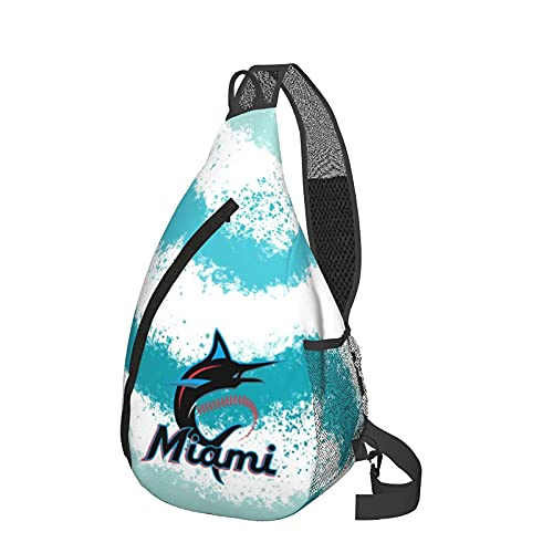 Mochila de viaje Senderismo Bolsa de pecho white marlin lives matter Sling Backpack Fashion Travel Hiking Chest Bag Daypack for Women Men