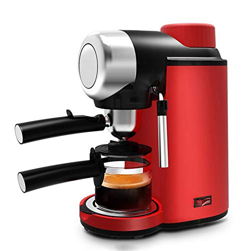Coffee Maker Espresso Machine One Touch to Brew Multiple Brew Strength Reusable Filter with Self Cleaning Function One Touch Operation for Home, Office, RV