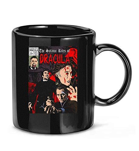 N\A Taza de café clásica de los ritos satánicos de drácula para Mujeres y Hombres Tazas de té