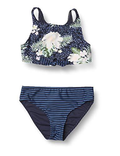 Roxy Heaven Wave - Conjunto de Bikini Crop Top - Chicas 8-16 - 7 - Azul