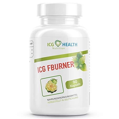 ICG Health Nutrition - FBURNER | Natürliches Mittel mit Garcinia Cambogia Fruchtextrakt für Frauen & Männer - 90 Kapseln - Premium Qualität - Hergestellt in Deutschland (1)