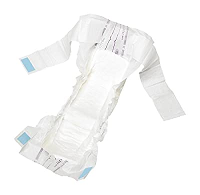 ID Expert Incontinence Belt, Disposable Pads, Maxi, Large 95-135 cm, Moderate to Heavy Incontinence, Fast Absorption, Odour Control, Anti-Leakage Protection, Non-Latex, Dermatologically Tested from Ontex Healthcare UK