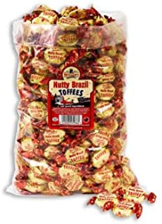 WALKERS NONSUCH TOFFEE Walker's Nonsuch Nutty Brazil Toffees 250g
