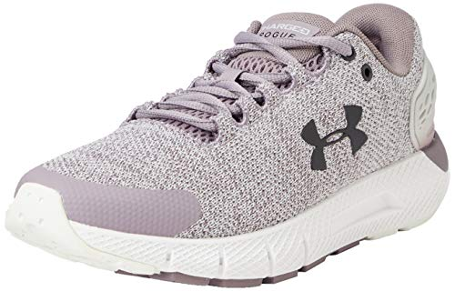 Under Armour Women's Charged Rogue 2 Twist Running Shoe, Slate Purple (500)/White, 9