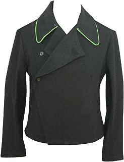 WW2 WWII Police Armored Unit Panzer Black Wool wrap/Jacket