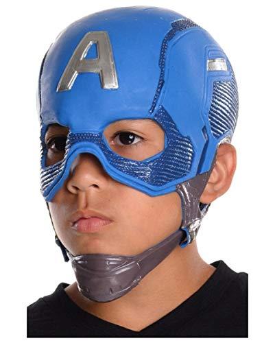 Horror-Shop Capitán América máscara niños