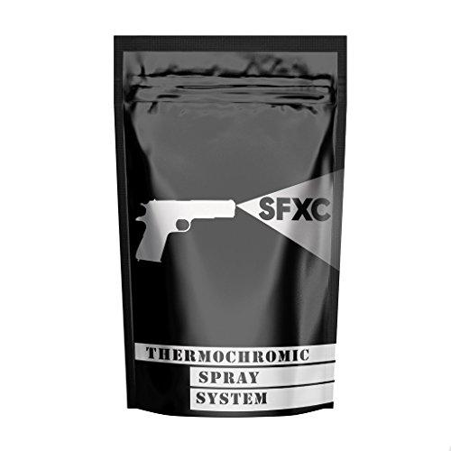 SFXC® Thermochromisches Sprühsystem, 100 ml / 28 °C, Schwarz