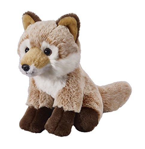 Deine Tiere mit Herz Bauer Spielwaren Fuchs: Kleines Kuscheltier zum Kuscheln und Liebhaben, ideal als Geschenk, 18 cm, hellbraun (12507)