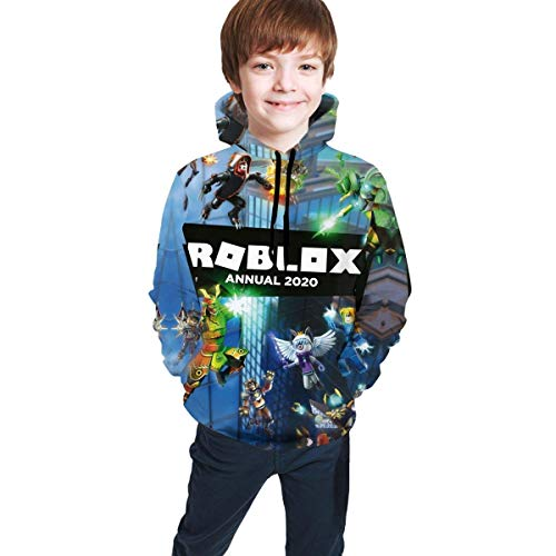 maichengxuan Rob-Loxs Kids Hoodie, Graphic Fleece Hooded Sweatshirt, with Pocket Pullover Hoodie for Boys Girls