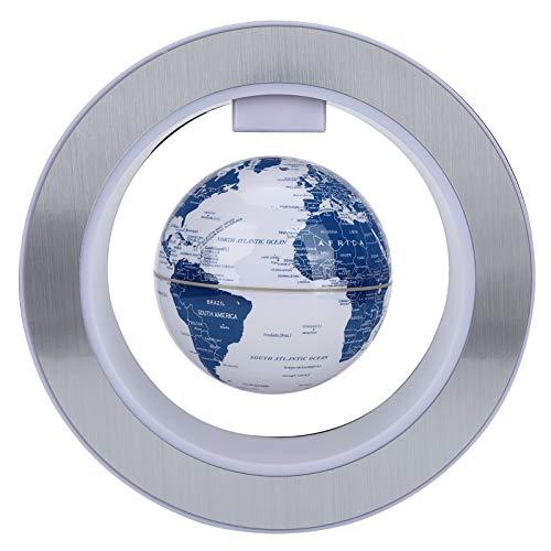 Globo magnético, globo flotante de levitación con luces LED, globo de mapa del mundo, accesorios de escritorio de oficina, cosas interesantes para hombres, padre, regalos de cumpleaños para niños.(yo)