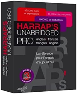 Harrap's Unabridged Pro english/french the unltimate professionals' dictionary