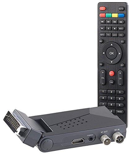 auvisio DVB T2 Receiver: DVB-T/T2-Empfänger mit SCART, HDMI und USB-Mediaplayer, HEVC/H.265 (DVB T2 Receiver SCART)