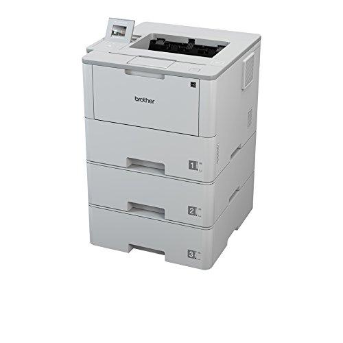 Brother HL-L6400DWTT A4 monochrom Laserdrucker (50 Seiten/Min., Drucken, 1.200 x 1.200 dpi, Print AirBag für 750.000 Seiten)