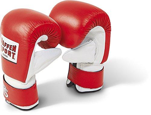 Paffen Sport PRO Boxsack-Handschuhe; rot/weiß; GR: M/L