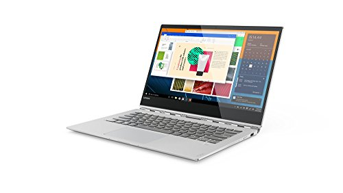 "Lenovo Yoga 920-13IKB - Ordenador portátil convertible de 13,9"" FullHD (Intel Core I5-8250U, 8GB RAM, 256GB SSD, Windows 10) plata. Teclado QWERTY español"