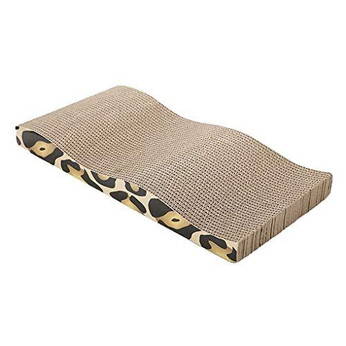 Cat Rasguño Cartón Corrugado Claro Flexible Muebles Protector Salón Scrapperador Recto