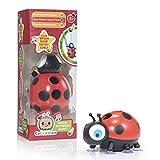 WOW! STUFF CoComelon Ladybug Juguete de aprendizaje preescolar con 'The Brush Your Teeth Song'   Para niños pequeños, niñas y niños   A partir de 2 años, soporte de cepillo de dientes musical