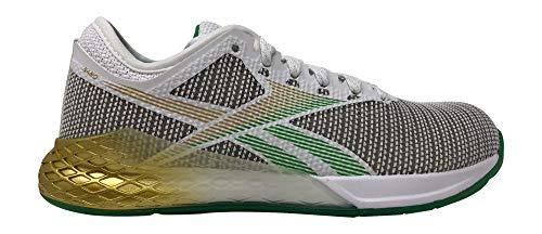Reebok Damen Nano 9 Crosstrainer Schuhe, (weiß/matt gold/reingrau), 41 EU