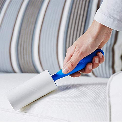 Papier Roll Kleding Haarverwijderaar Sticky Haar Sticky Papier Draagbare Kleding Stoeien Sticky Haar Sticky Haar Sticky Papier-Wit