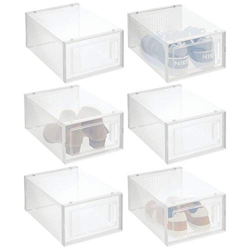 caja zapatos transparente fabricante mDesign